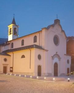 Chiesa di San Lorenzo in notturna