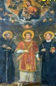 dipinto Madonna con Gesù