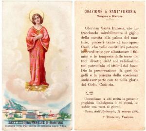 Immaginetta Sant'Eurosia