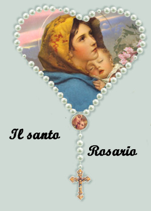 santo rosario corona