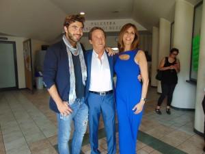 Callone al centro con GianMarco Tavani Paola OnofriDSC01292
