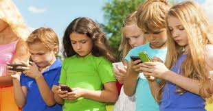 bambini cellulare