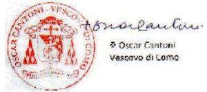 firma e timbro vescovo