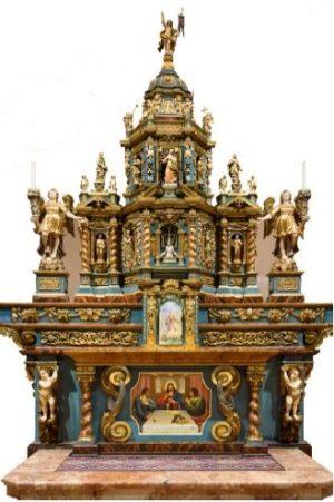 ciborio restaurato